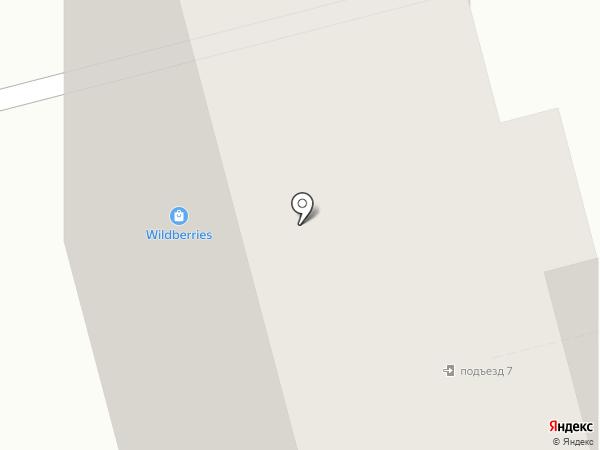 Домашний на карте Балашихи