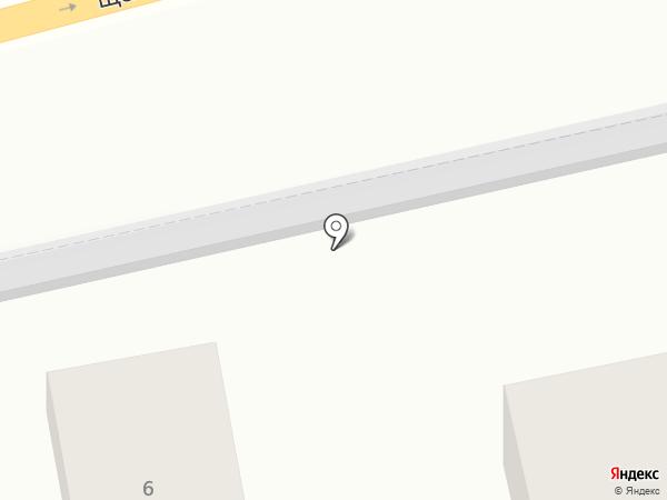 Гостиница на карте Балашихи
