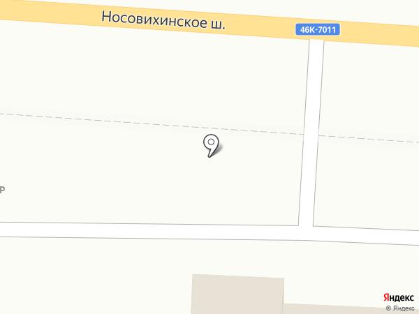 Лайк фуд на карте Балашихи