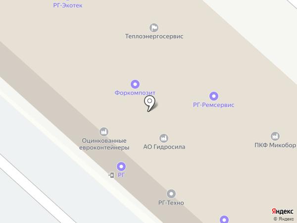 РГ-Экотек на карте Люберец