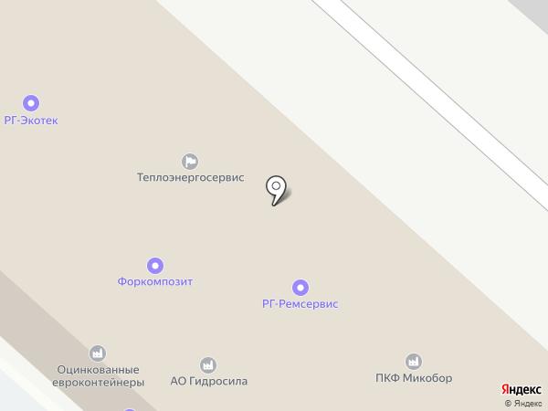 Грот на карте Люберец