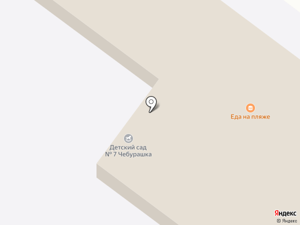 Детский сад №7 на карте Геленджика