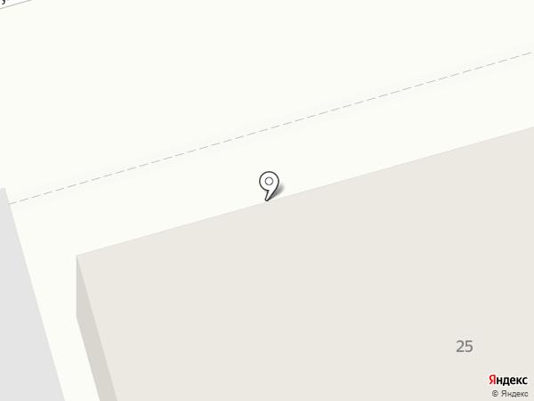 Три клёна на карте Киреевска