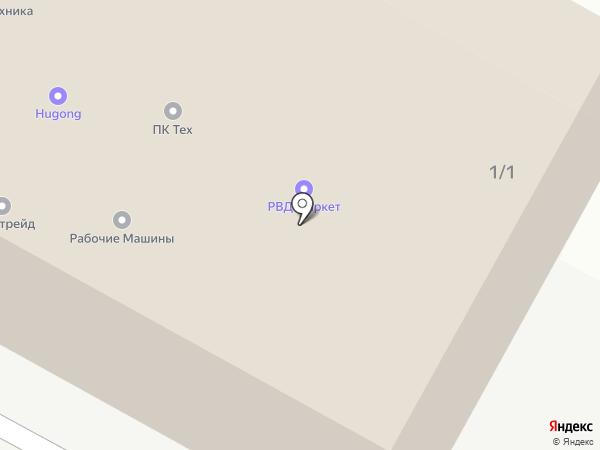 АМК Движение на карте Ивантеевки