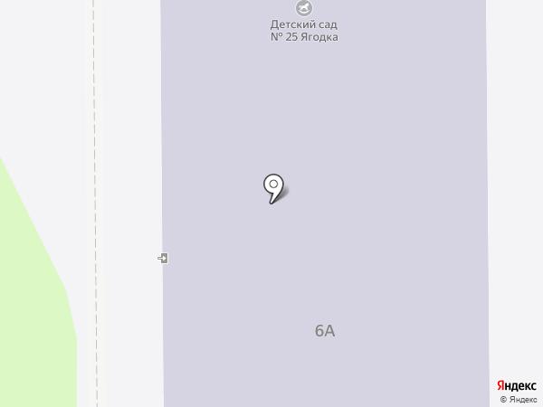 Детский сад №25 на карте Лесного
