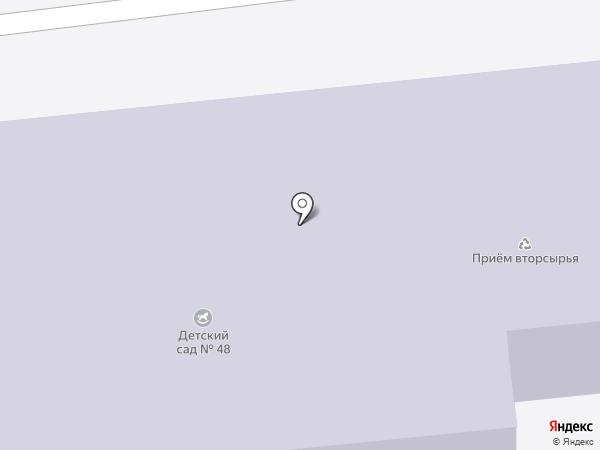 Томилинская средняя общеобразовательная школа №19 на карте Томилино