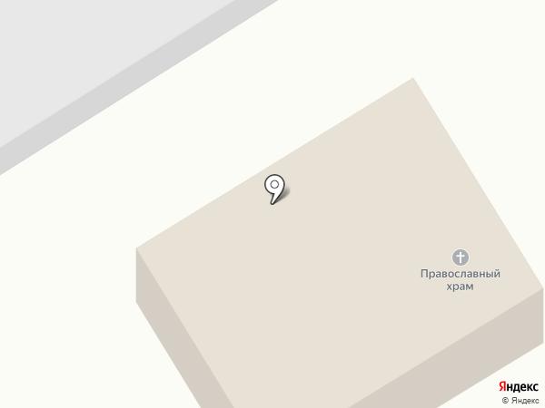 Свято-Тихвинский храм на карте Макеевки