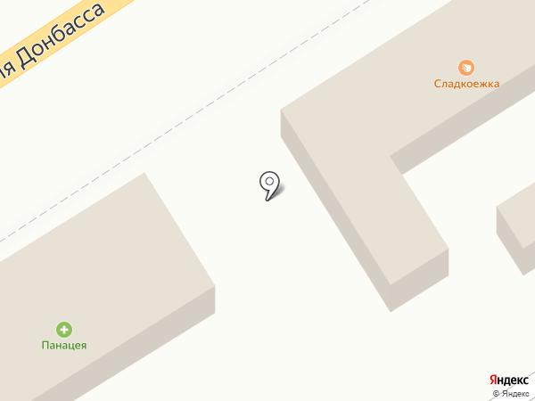 Лариса на карте Макеевки