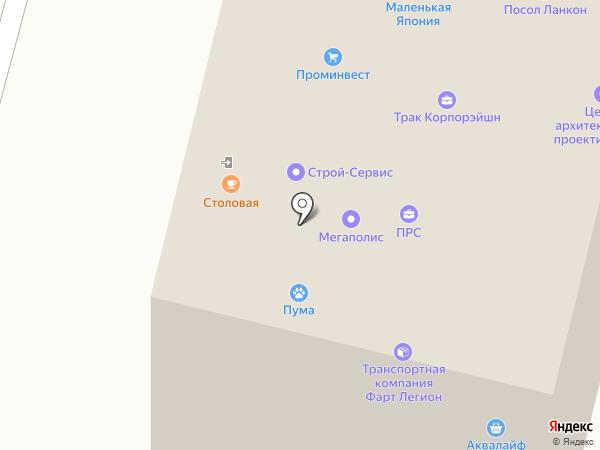 Пансионат на карте Балашихи