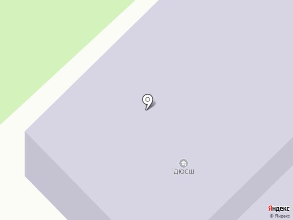 ДЮСШ на карте Киреевска