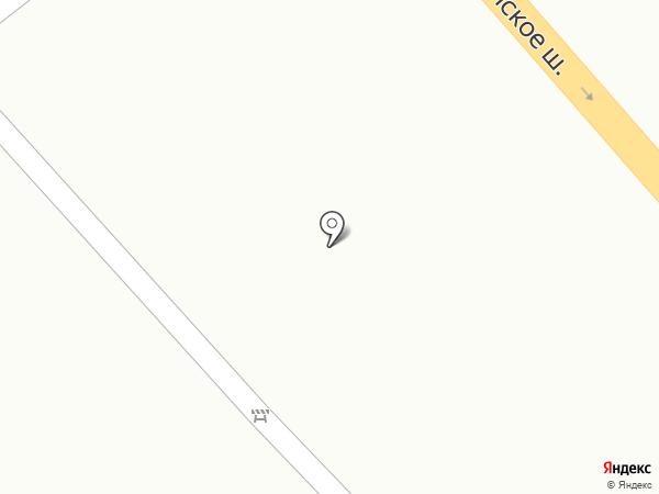 Меланя на карте Томилино