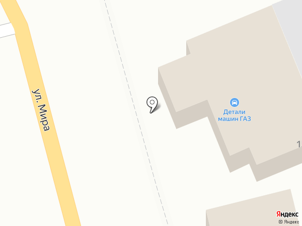 Детали машин ГАЗ 2 на карте Киреевска