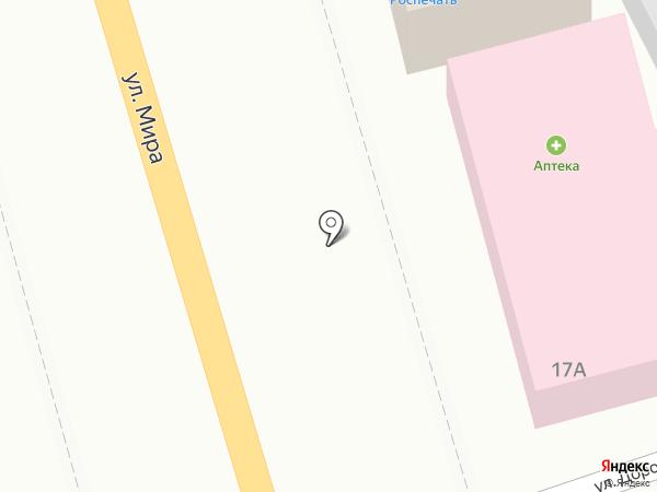 Щербаков на карте Киреевска