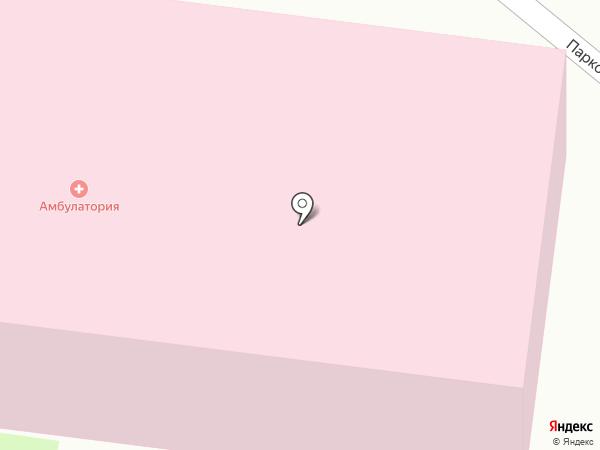 Краснопутьская амбулатория на карте Красного Пути