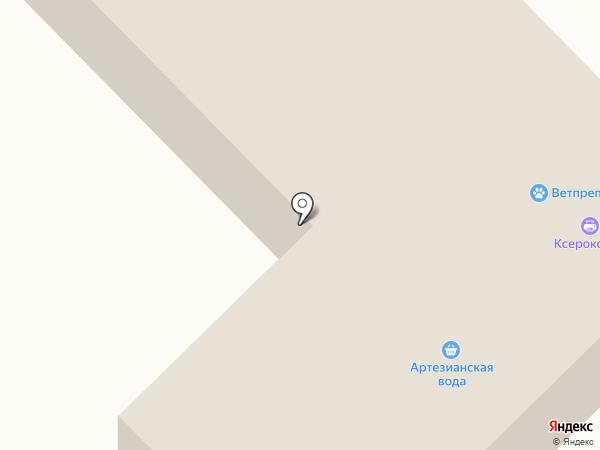 Техпрозем на карте Киреевска