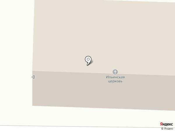 Храм Пророка Ильи в Лесном на карте Лесного