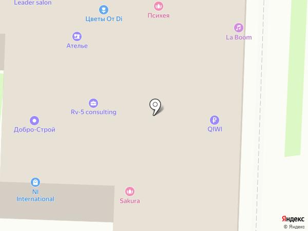 ВЕЛЛ на карте Балашихи