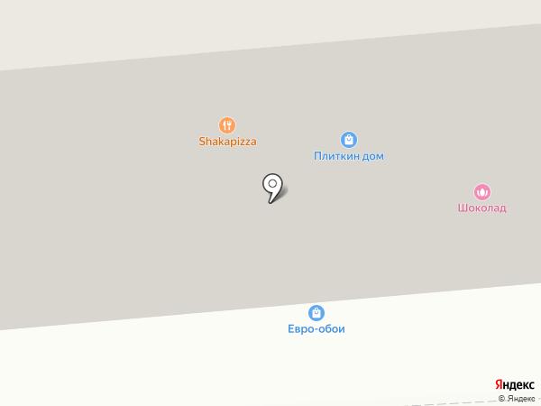 Плиткин дом на карте Ивантеевки