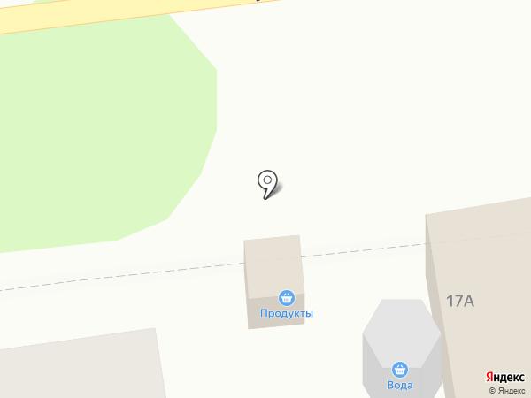 Киоск по продаже питьевой воды на карте Киреевска