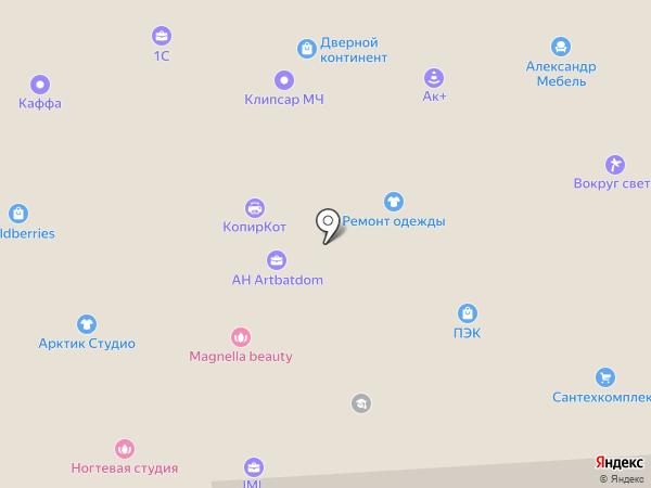 РУСКОМПЛЕКТ на карте Ивантеевки