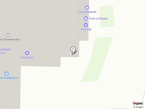 Почемучкин на карте Балашихи