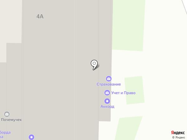 Баланс-Информ на карте Балашихи