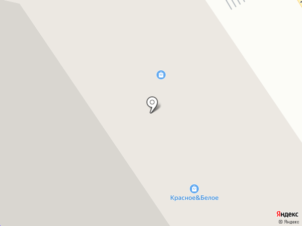Красное & Белое на карте Ивантеевки