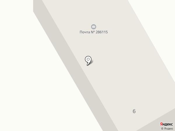 Отделение связи №15 на карте Макеевки
