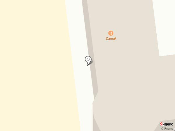 Zапой на карте Геленджика