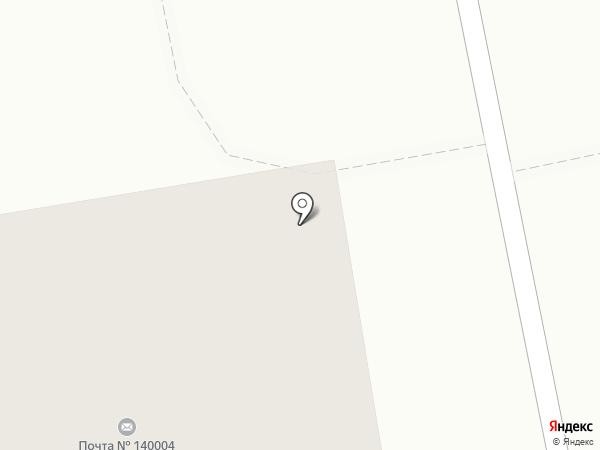 Почтовое отделение №140004 на карте Люберец