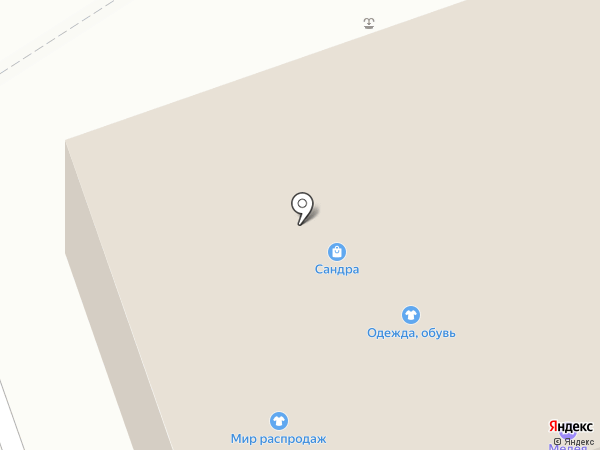 Медея на карте Киреевска