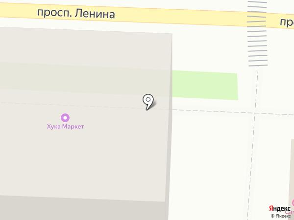 Пенное на карте Балашихи