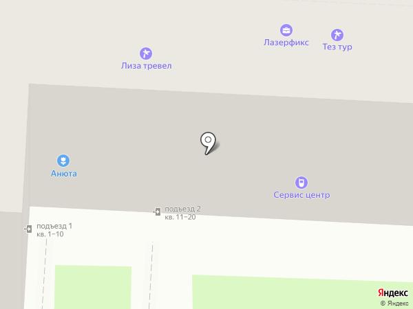 Балашихинский союз предпринимателей среднего и малого бизнеса на карте Балашихи