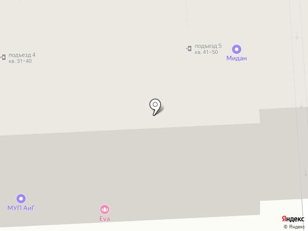 Мидан на карте Балашихи
