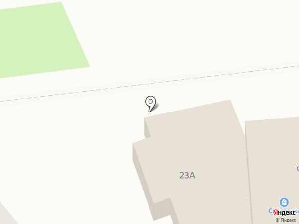 Аист на карте Киреевска