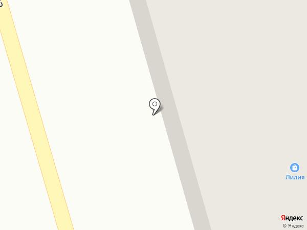 Лилия на карте Киреевска