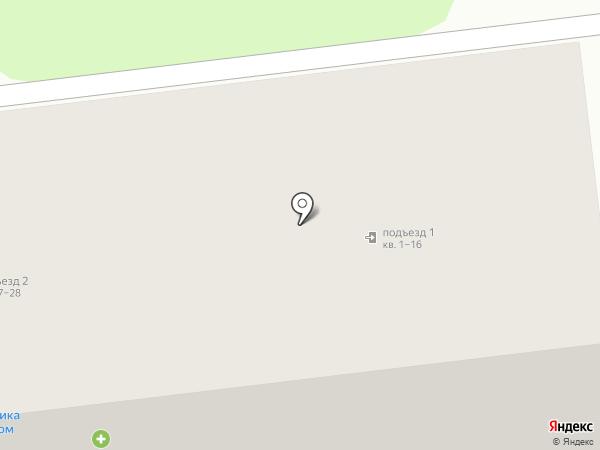 Магазин картин на карте Киреевска