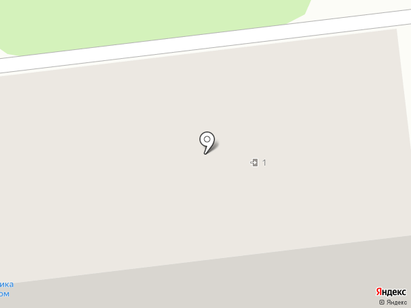 Магазин канцтоваров на карте Киреевска