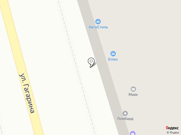 Кабошон на карте Киреевска