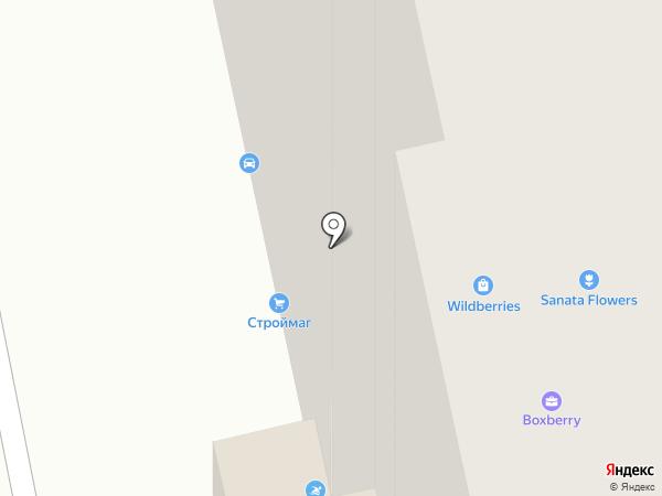 Магазин мяса и колбасно-сырной продукции на карте Балашихи