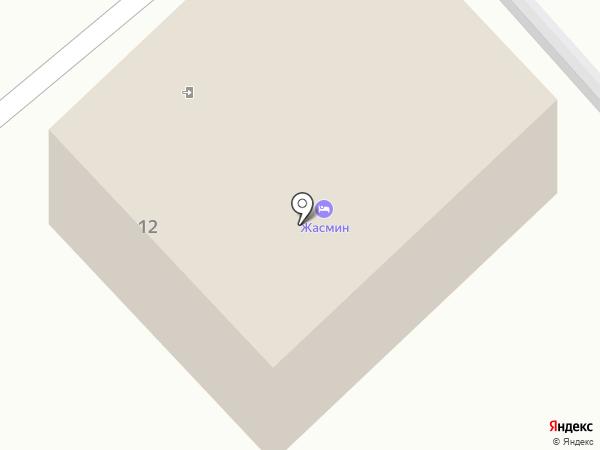 Вилла Жасмин на карте Геленджика
