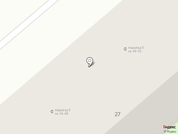 Магдалена на карте Киреевска