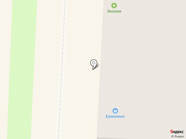 Ермолино на карте Балашихи