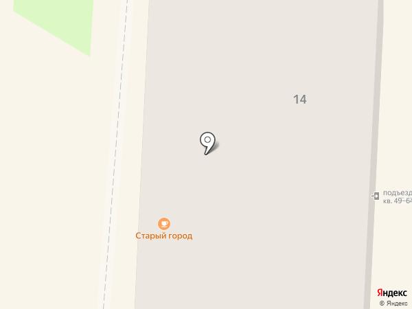 Хаси на карте Балашихи