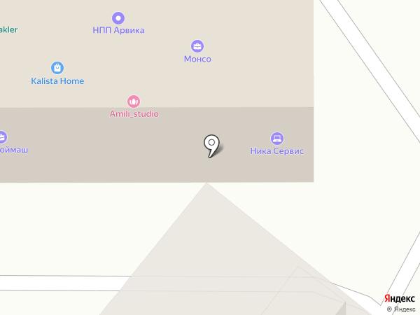 ТехноСервис на карте Балашихи