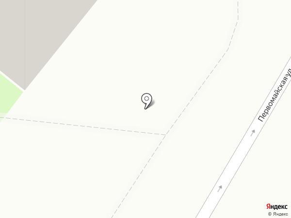 Первомайское подворье на карте Балашихи