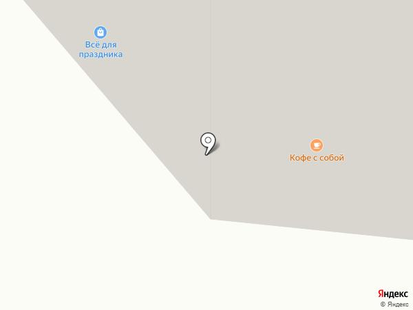 Я сам на карте Ивантеевки