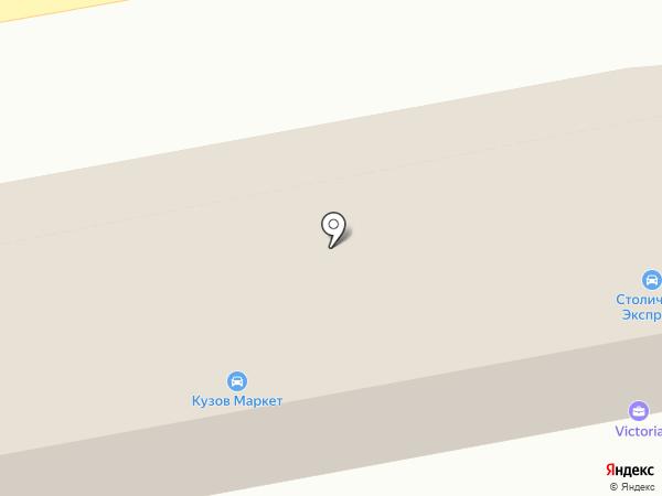 Вираж на карте Томилино