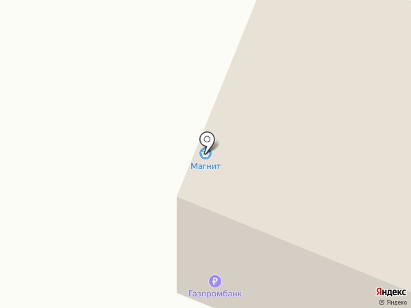 Магнит на карте Геленджика