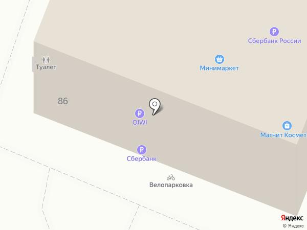 Банкомат, Газпромбанк на карте Геленджика